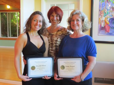 Master Teacher Diane Jarmolow with Graduating Trainees