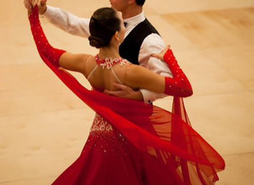 Steppin out: Competitive ballroom dancing inspires four